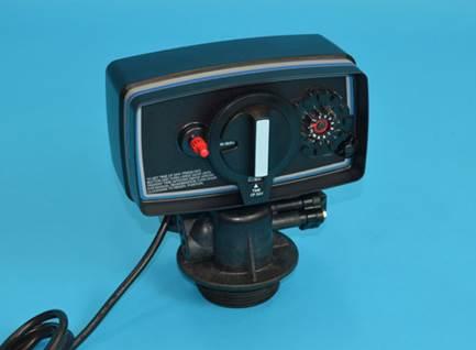軟水器用自動バルブ