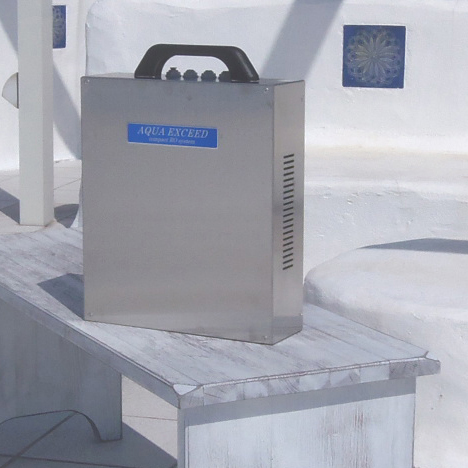 非常用逆浸透膜浄水器のイメージ